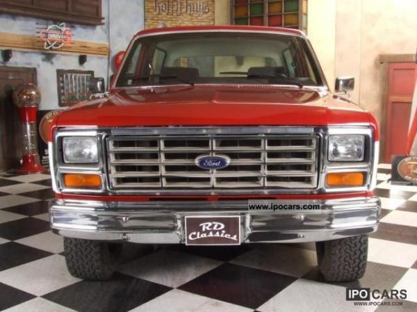 Ford Pickup 1986 #3