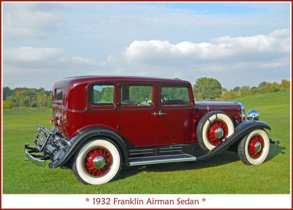 Franklin Airman 1932 #5