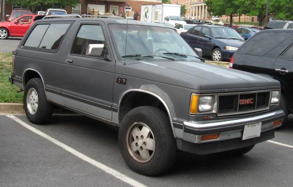 GMC S-15 Jimmy 1991 #3