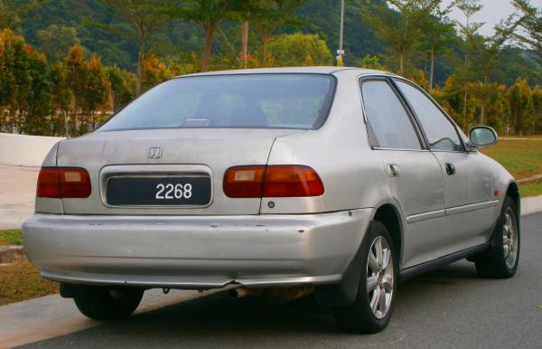 Honda Civic 1992 #3