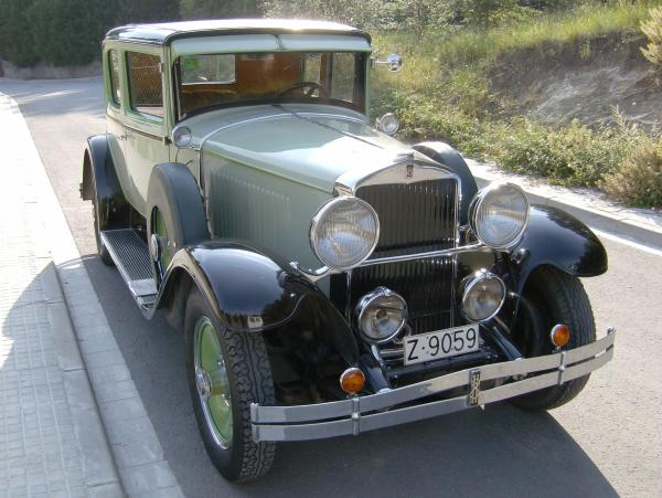 Hupmobile Series 417-W 1934 #4
