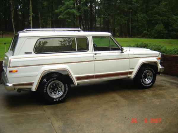 1981 jeep cherokee information and photos momentcar. Black Bedroom Furniture Sets. Home Design Ideas