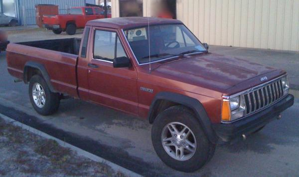 Jeep Comanche Base #1
