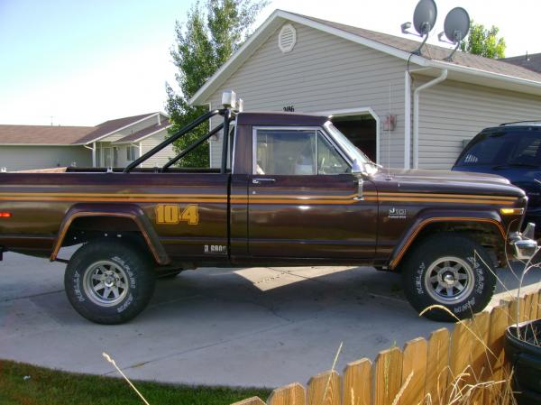 1979 Jeep J10 - Information And Photos