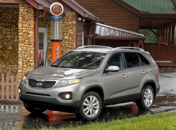 KIA has introduced a new KIA 2012 Sorento