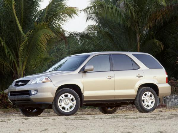 Laconic and elegant Acura 2000 MDX