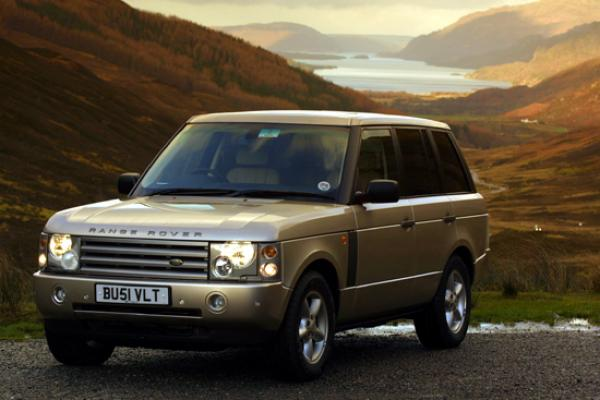 land rover 2003 Range Rover presented after a sophisticated revising