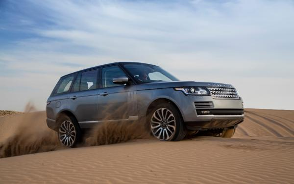 Land Rover 2013 delivers the optimum ride