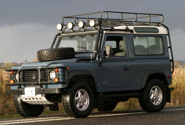 Land Rover Defender 90 #5