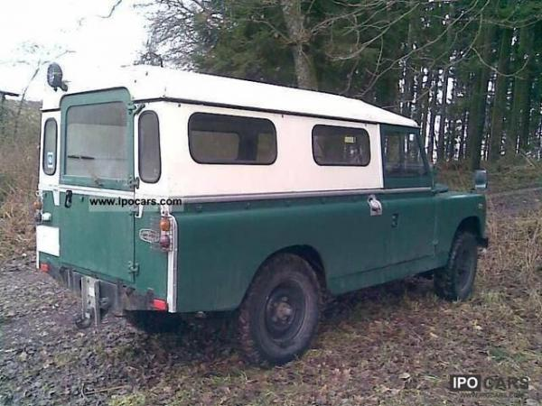 Land Rover Series II 1960 #3