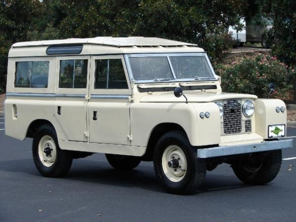 Land Rover Series II 1963 #3