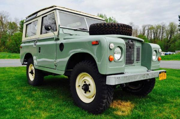 Land Rover Series II 1970 #3