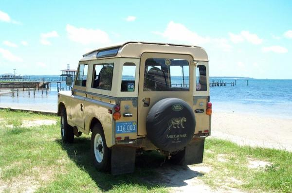 Land Rover Series III 1972 #4