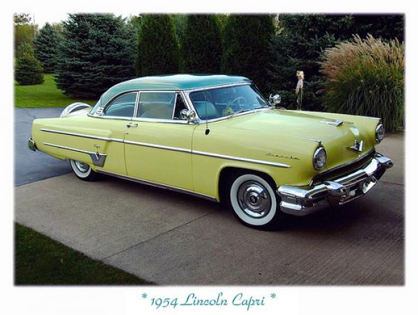 1954 Lincoln Capri Information And Photos Momentcar