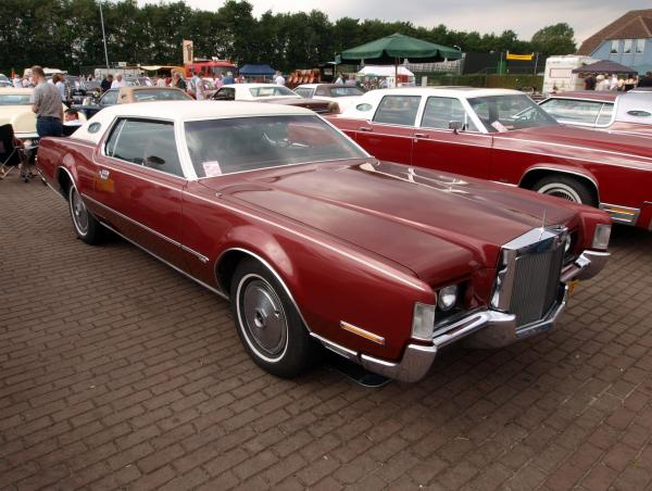 Lincoln Mark IV 1972 #4