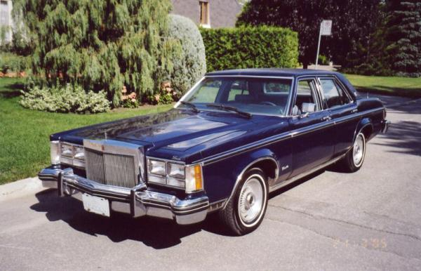 Lincoln Versailles 1978 #5
