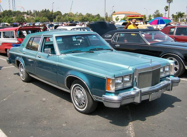 Lincoln Versailles 1980 #4