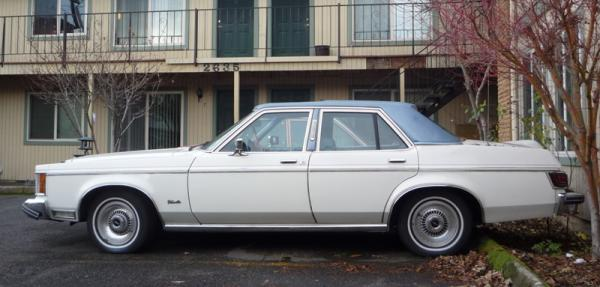Lincoln Versailles 1980 #5