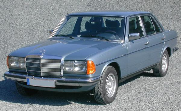 Mercedes-Benz 300CD 1981 #5