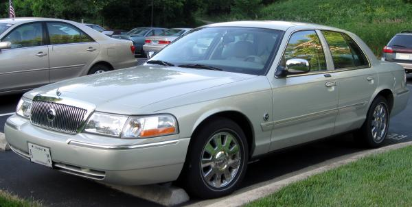 Mercury Grand Marquis 2011 #3