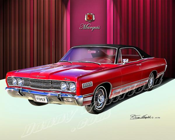 1967 Mercury Marquis - Information and photos - MOMENTcar