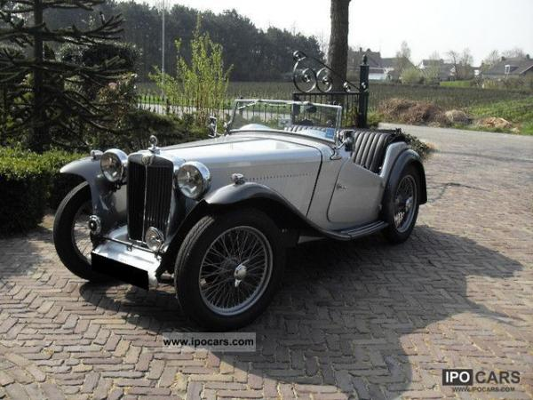 MG TC Roadster 1947 #3