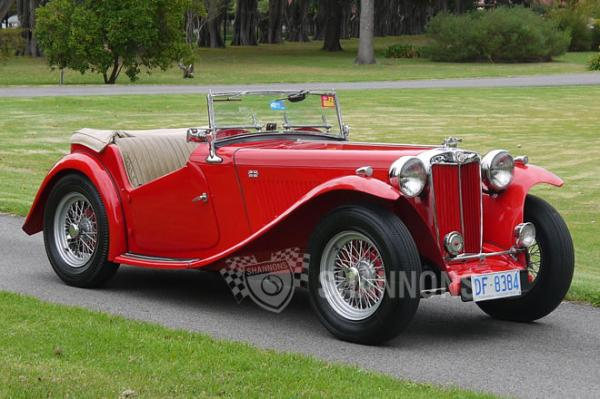 MG TC Roadster 1948 #3