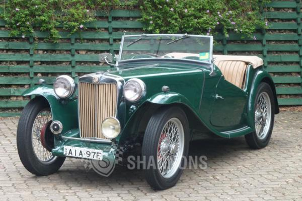 MG TC Roadster #3
