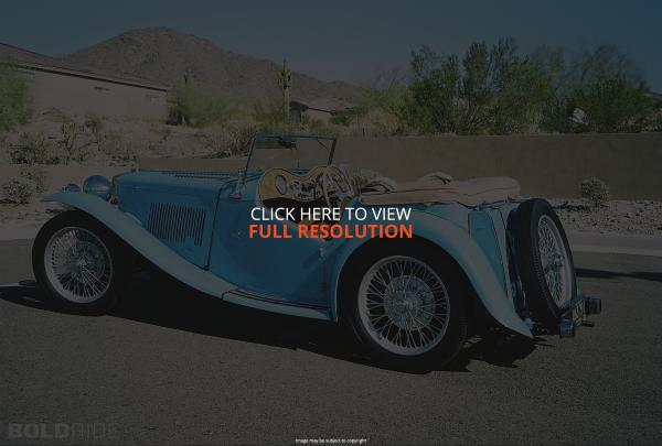 MG TC Roadster #4