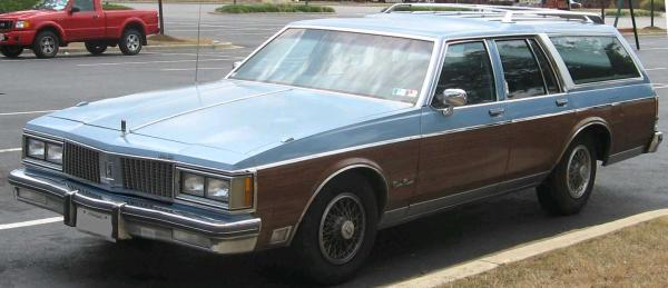 Oldsmobile Custom Cruiser 1986 #4