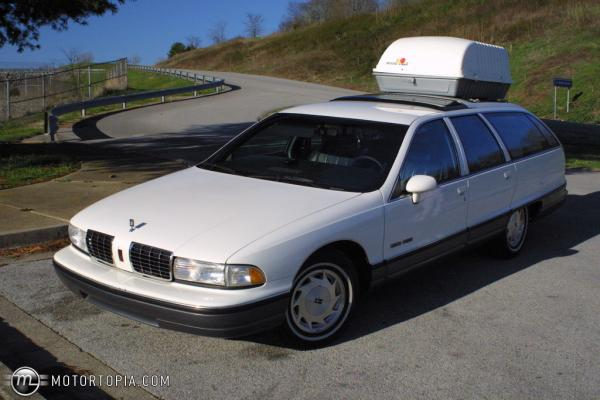 Oldsmobile Custom Cruiser 1992 #2