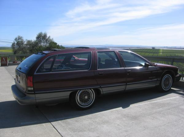 Oldsmobile Custom Cruiser 1992 #5