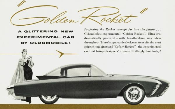 Oldsmobile Golden Rocket #3