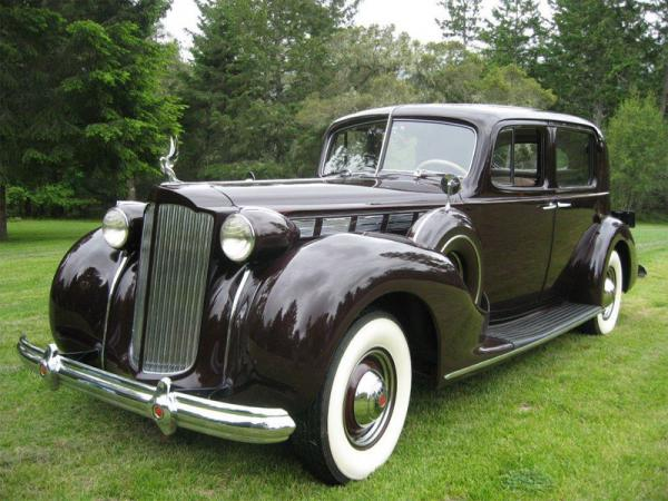 Packard Super Eight 1938 #1