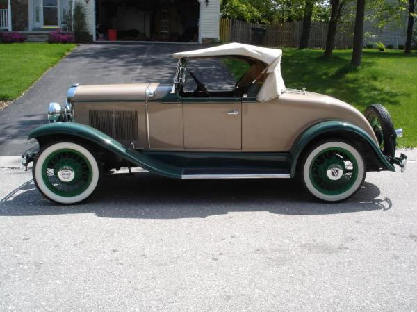 Plymouth Model 30U 1930 #3