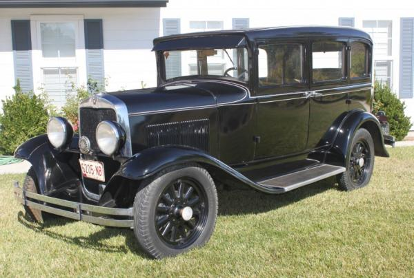 Plymouth Model 30U 1930 #4