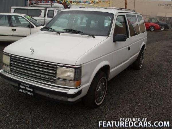 1988 Plymouth Voyager