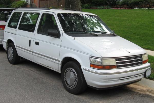 Plymouth Voyager 1992 #3
