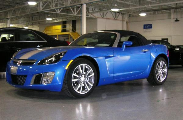 Saturn Sky Hydro Blue Limited Edition #1