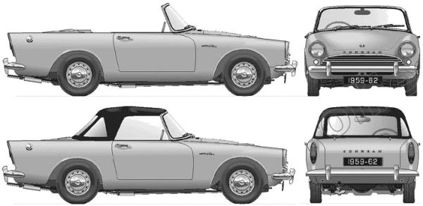 Sunbeam Alpine 1960 #5