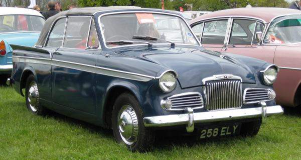 Sunbeam Rapier 1962 #1