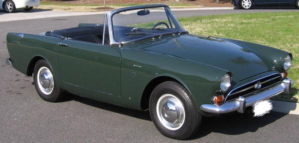 Sunbeam Tiger 1967 #4