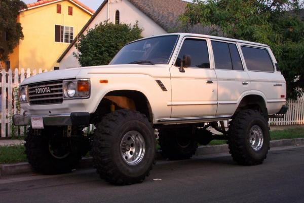 Toyota Land Cruiser 1983 #4