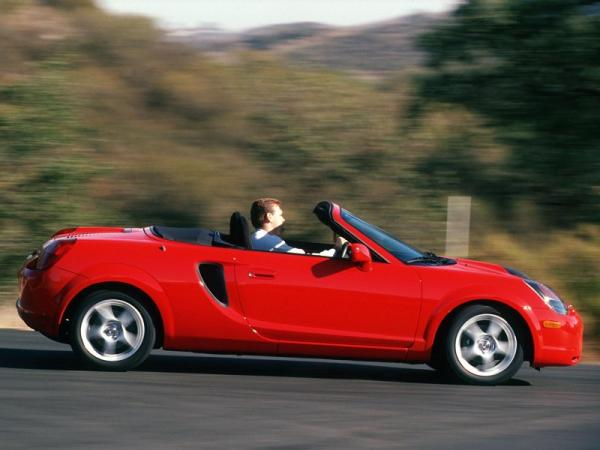 Toyota MR2 Spyder 2000 #4