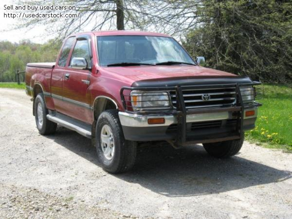 1998 toyota t100 information and photos momentcar. Black Bedroom Furniture Sets. Home Design Ideas