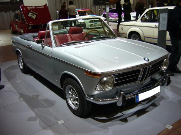 When the past becomes actual today with BMW 2002 1502 model
