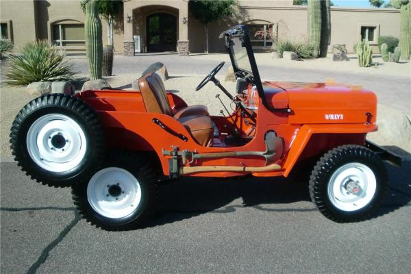 Willys CJ-3B 1960 #3