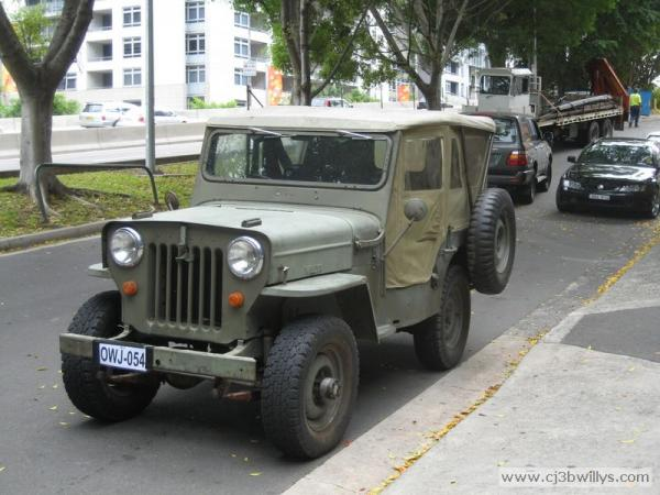 Willys CJ-3B #5