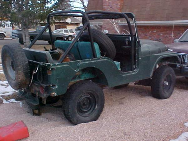 Willys CJ-5 1962 #1