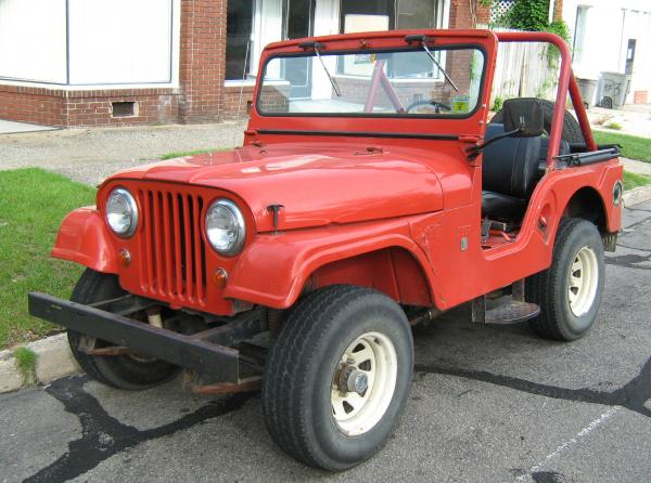 Willys CJ-6 1962 #3